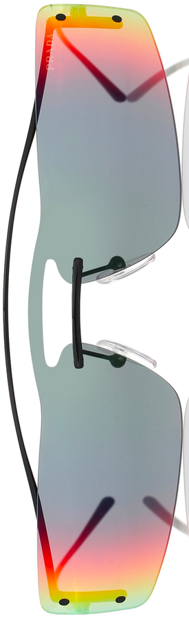 PRADA Prada Runway Rectangular Sunglasses