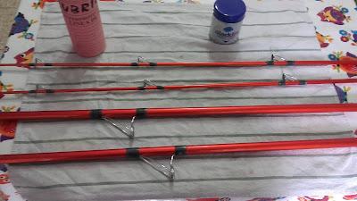 Productos para limpieza y mantenimiento de cañas y carretes de pesca