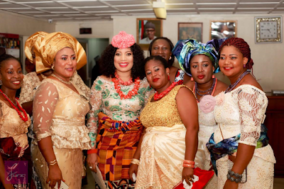 pictures from Monalisa Chinda wedding