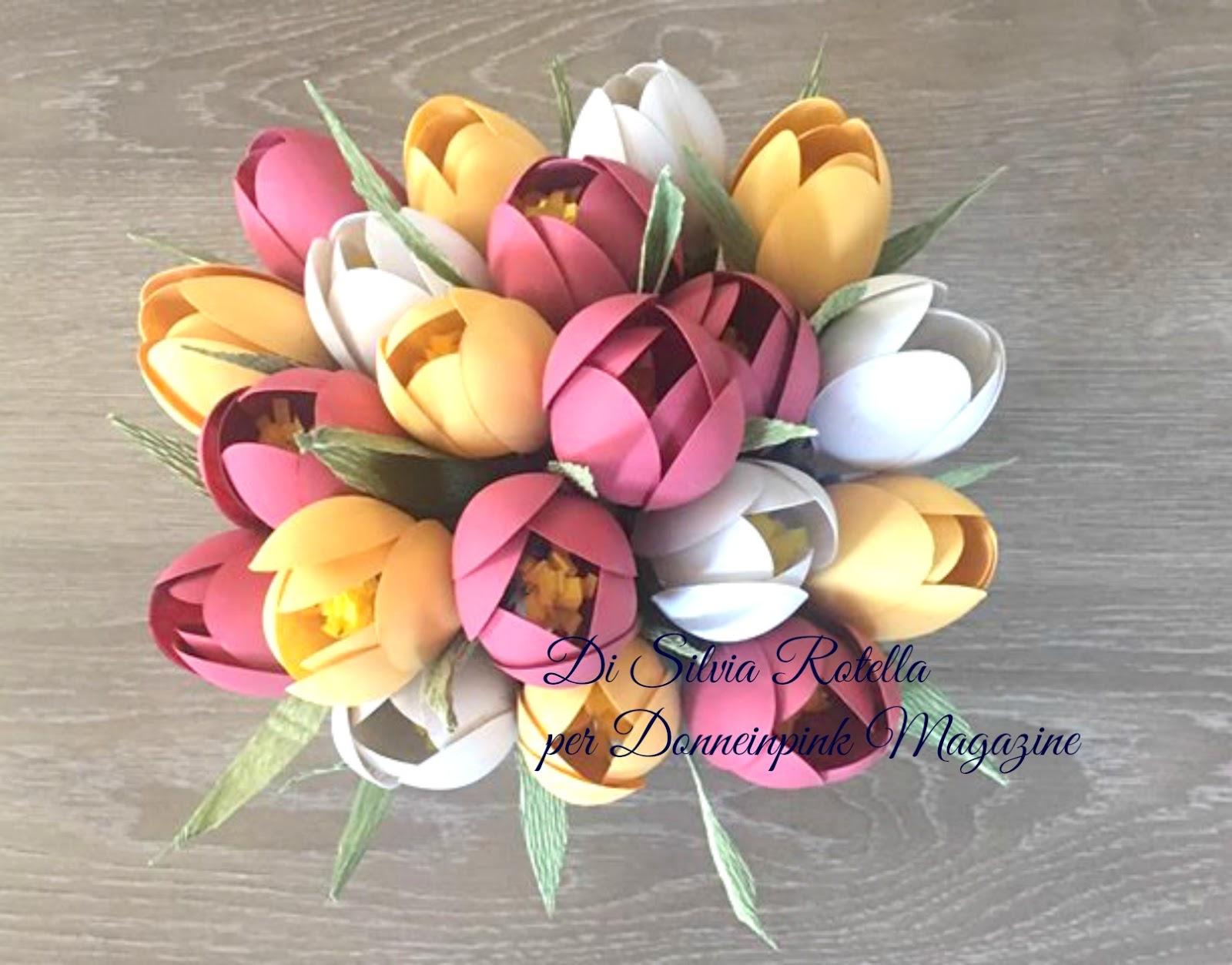 Tulipani fai da te con cucchiai di plastica for Bicchieri tulipano