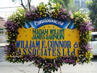 Papan Bunga Untuk Ucapan Duka Cita ( Condolences ) Mewah  Di Mojokerto