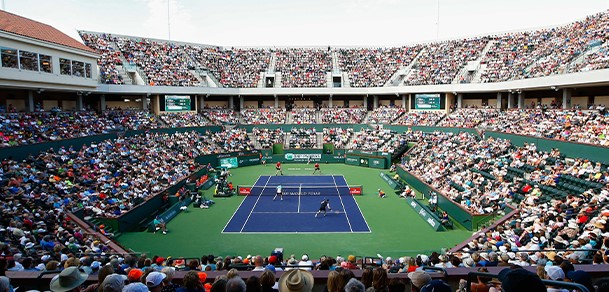 Indian Wells tennis gardens for BNP Paribas Open