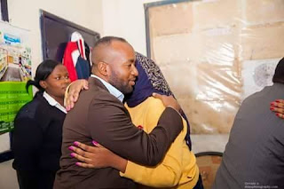 Hon Aisha Jumwa with Mombasa Governor Hassan Joho. PHOTO Courtesy