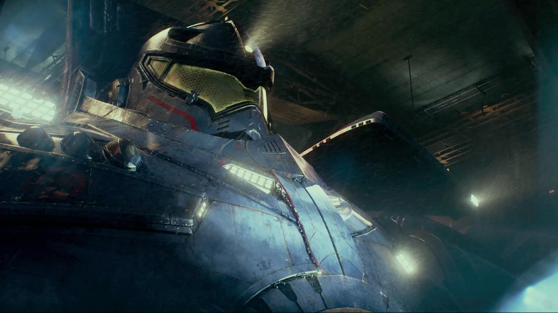 Pacific Rim Le film: Pacific Rim: Gipsy danger blueprint! Pacific Rim Jaeger Gypsy Danger Sword