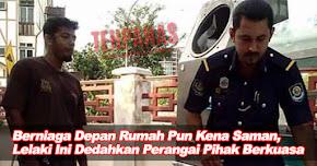 Thumbnail image for Berniaga Depan Rumah Pun Kena Saman, Lelaki Ini Dedahkan Perangai Pihak Berkuasa