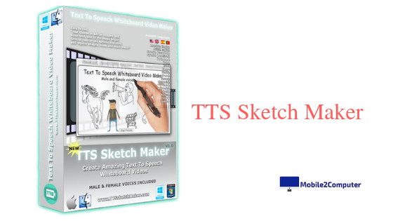 TTS Sketch Maker - Best Whiteboard Animation software for creating Whiteboard Animation video