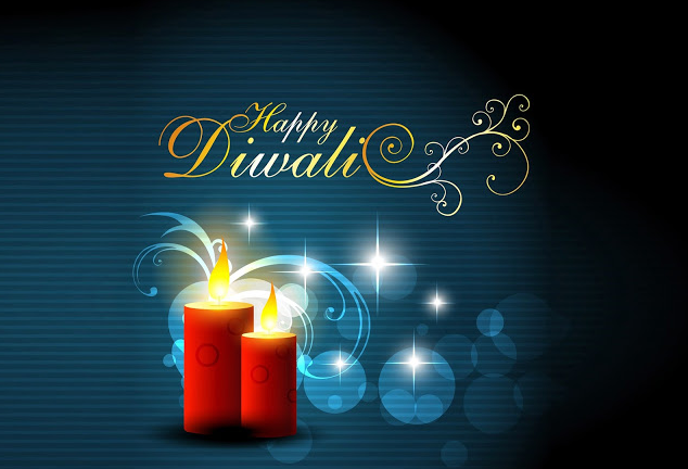 Happy Diwali 2016 Candle Image