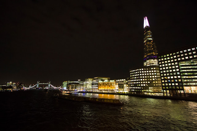 The Shard di notte-Londra