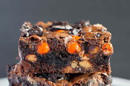 OREO REESE'S FUDGE BROWNIES