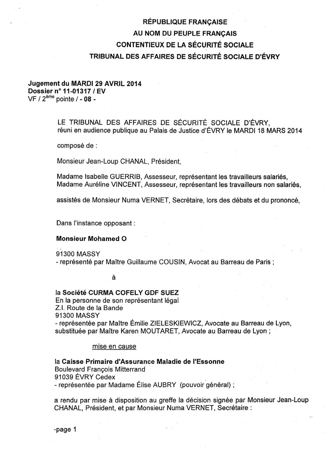 modele lettre de refus de reclassement suite inaptitude Le Blog de Maître Guillaume Cousin: décembre 2014 modele lettre de refus de reclassement suite inaptitude