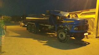 Caminhão furtado em São Vicente do Seridó é recuperado pela Polícia