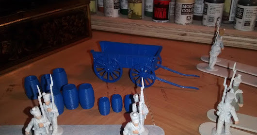 Adventures in 3-D Printing for Miniature Gaming