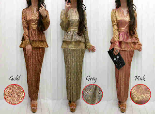 Stelan Songket Susun fit to L