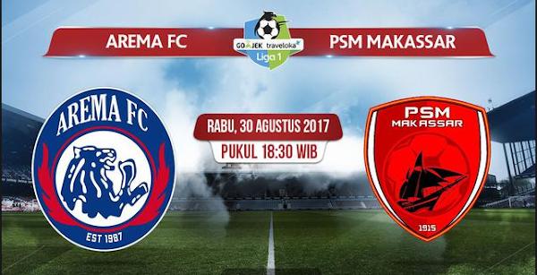 Prediksi GO-JEK LIGA 1 INDONESIA PSM Makassar vs Arema FC 14 Oktober 2018 Pukul 15.30 WIB - liganation