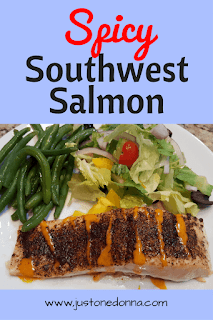 Spicy Southwest Salmon