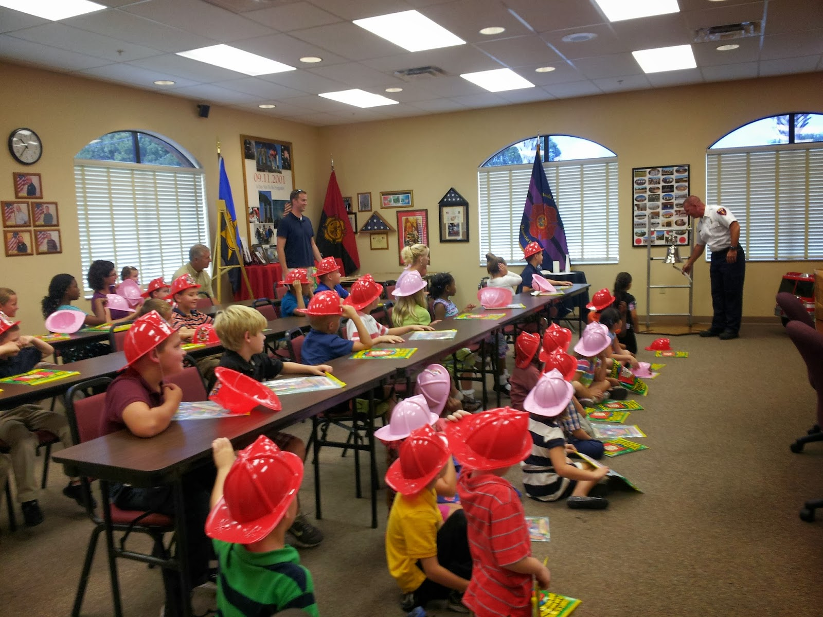 School Happenings Community Helpers Fire Fighters