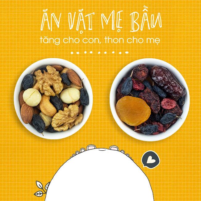 Mixfruits ăn vặt Bà Bầu đủ chất cho thai nhi