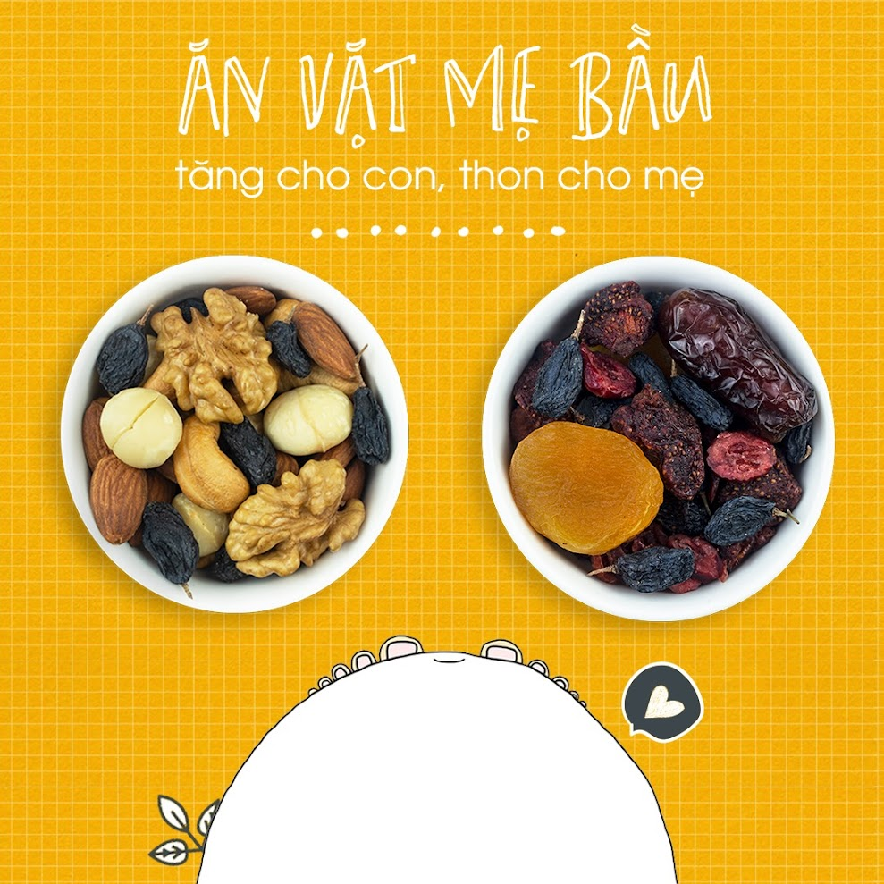 Hướng dẫn Bà Bầu nên ăn gì tốt cho Mẹ và Bé?