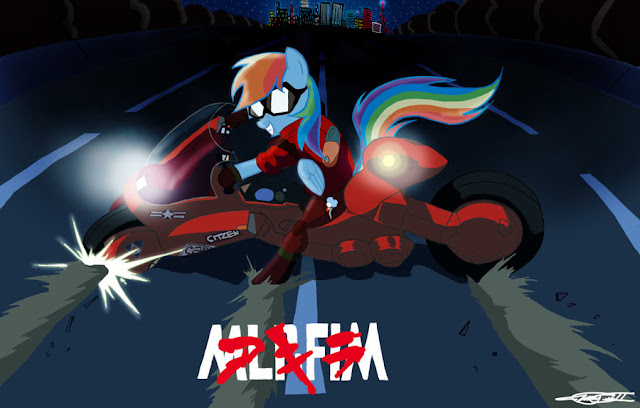 Rainbow Bright vs Akira