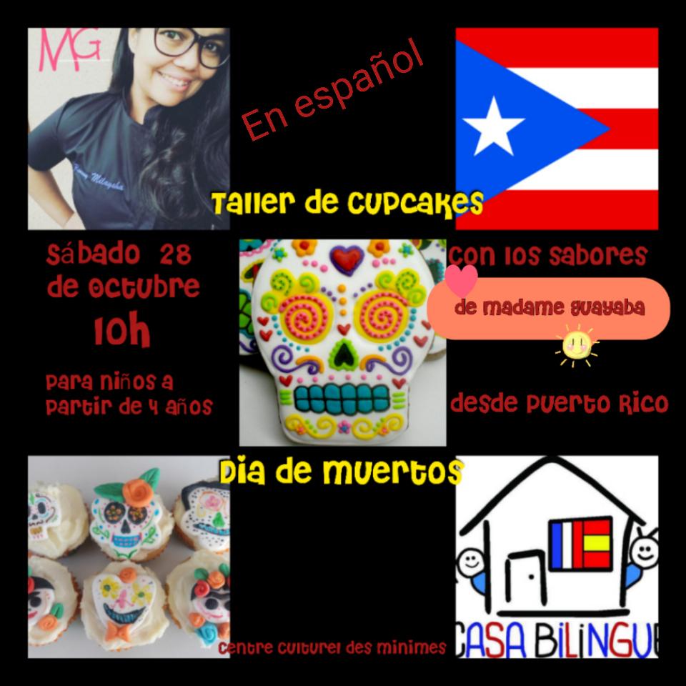 casa bilingue: atelier spécial fiesta de muertos