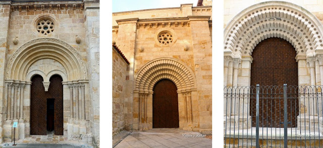 Puertas de Iglesia de Santiago de Burgo, Zamora,