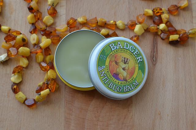 Badger Company, Бальзам для защиты от насекомых с цитронеллой и розмарином