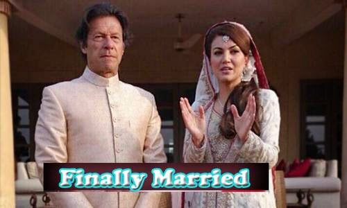 Rumors Becomes Reality Imran Khan and Reham Khan Finally Married