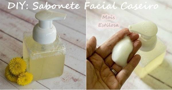 sabonete facial caseiro