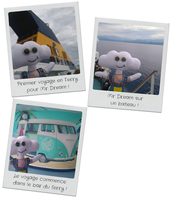 Mr Dream dans le bateau Corsica Ferry
