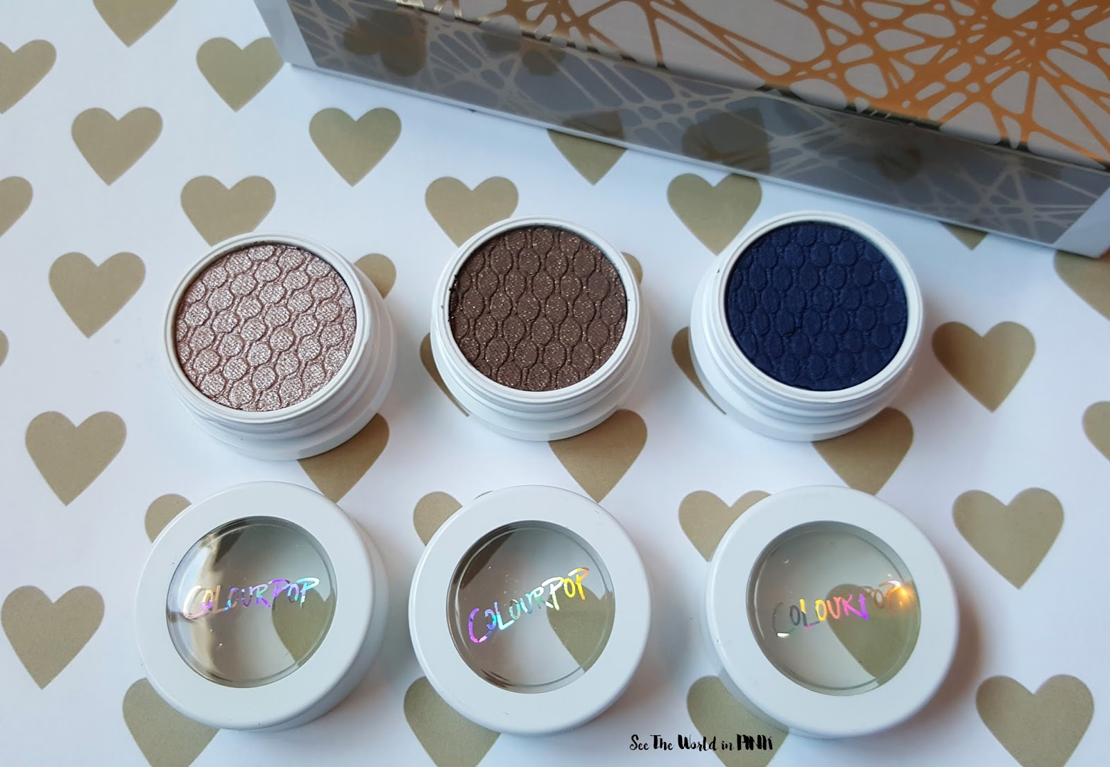 "ColourPop - ""Forever Freshman"" Eyeshadow Set Review and Swatches"