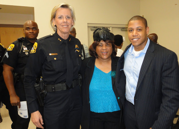 Tampa Police Department Unsung Hero-Black History2-24-2011