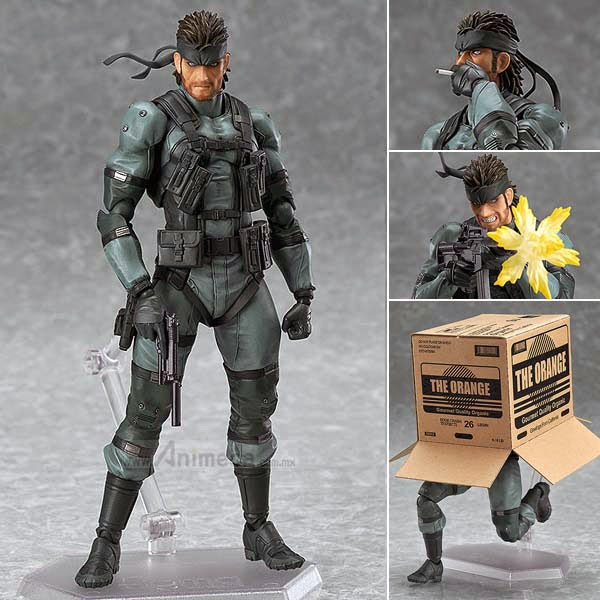 SOLID SNAKE MGS2 Ver. FIGMA FIGURE Metal Gear Solid 2 Sons of Liberty Max Factory