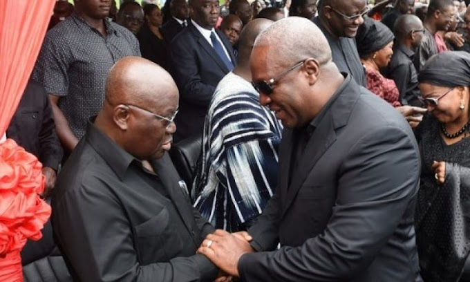 Prove yourself at debates not 'slangs' on Peace FM - Mahama to Nana Addo