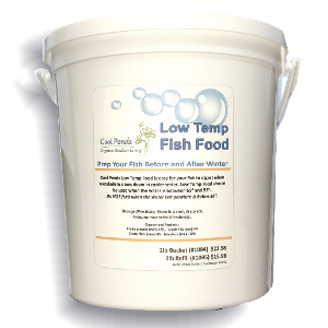cool ponds low temp fish food bucket