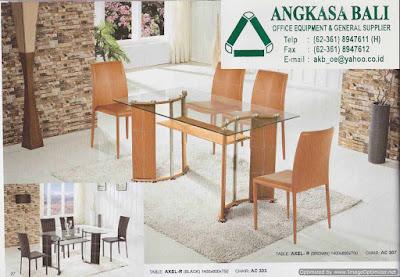 jual meja makan dan kursi makan minimalis di bali