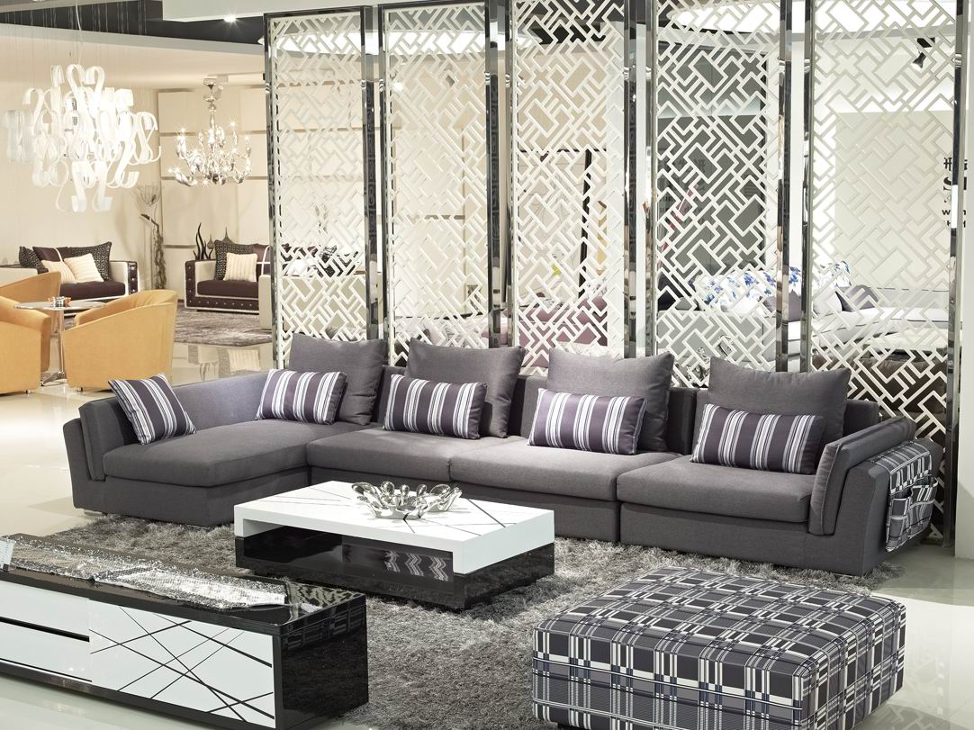 Sofa Cinza E Almofadas Coloridas Lexington Furniture Leather Sofas Combinação De Sofá Solteiras Noivas Casadas