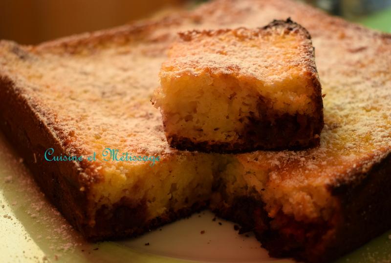 gâteau petits suisses fruits rouges