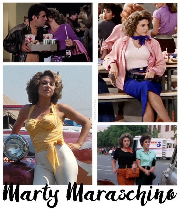 marty maraschino outfit grease