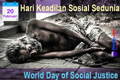 Hari Keadilan Sosial Sedunia (World Day of Social Justice) 20 Februari