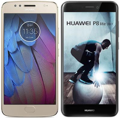 Motorola Moto G5s vs Huawei P8 Lite (2017)