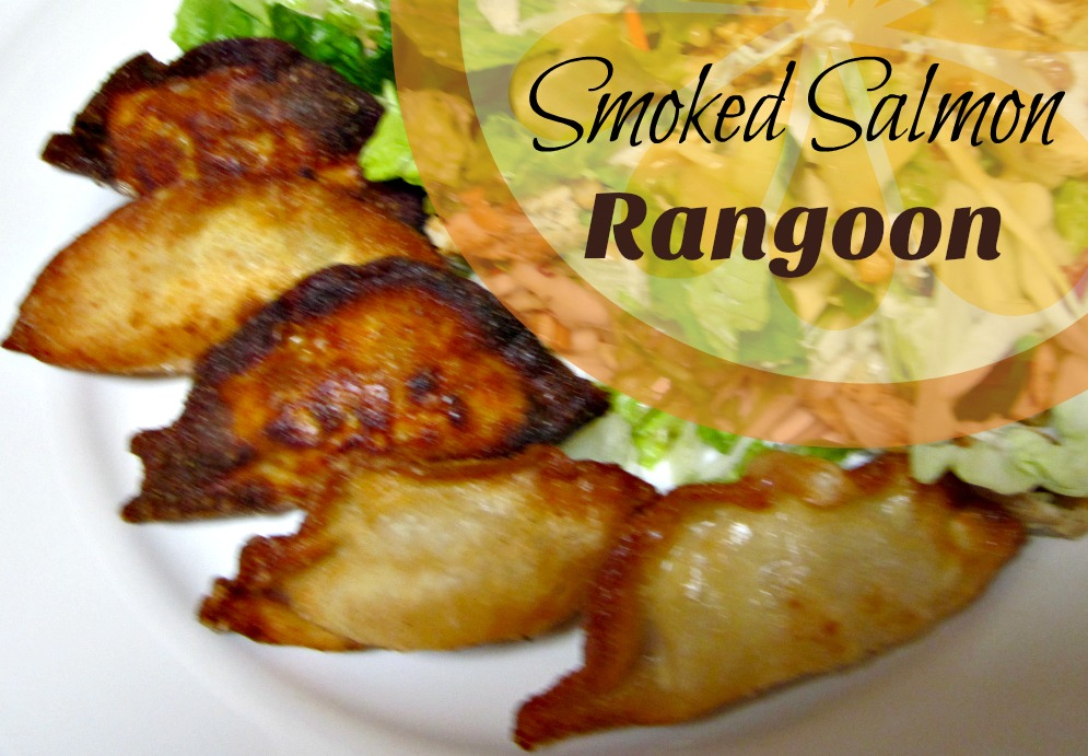 Reviews, Chews & How-Tos: Smoked Salmon Rangoon (Menu Plan)