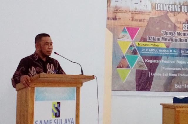 Wakil Bupati Buka Resmi, Festival Bajo Kepulauan Selayar