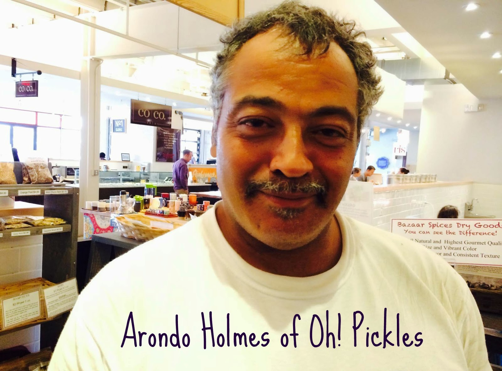 Arondo Holmes of Oh! Pickles Top Pickling Tips