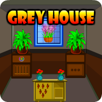 AvmGames Grey House Escape Walkthrough