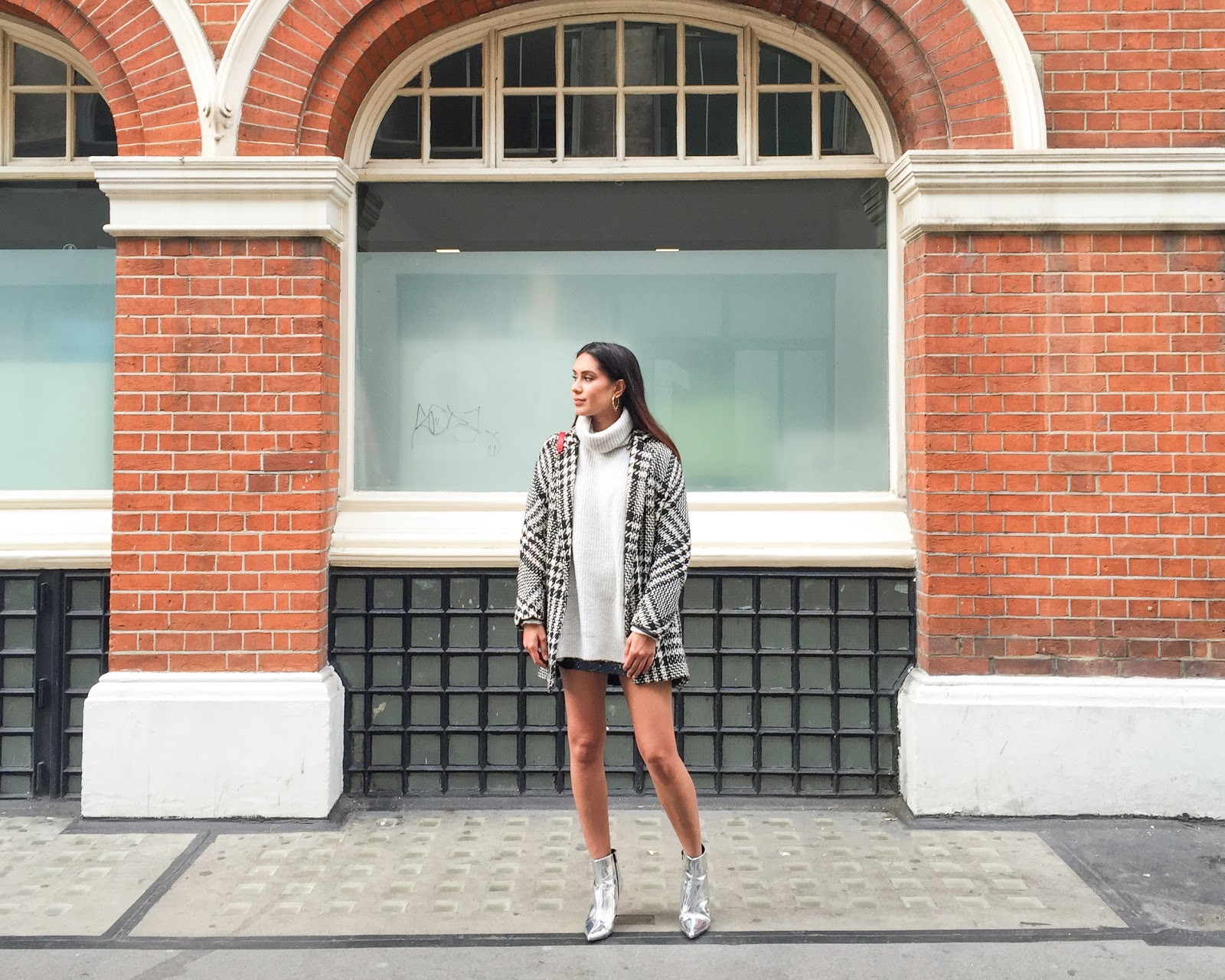 Fashion Blogger Reena Rai wearing Zara and Mango in Soho