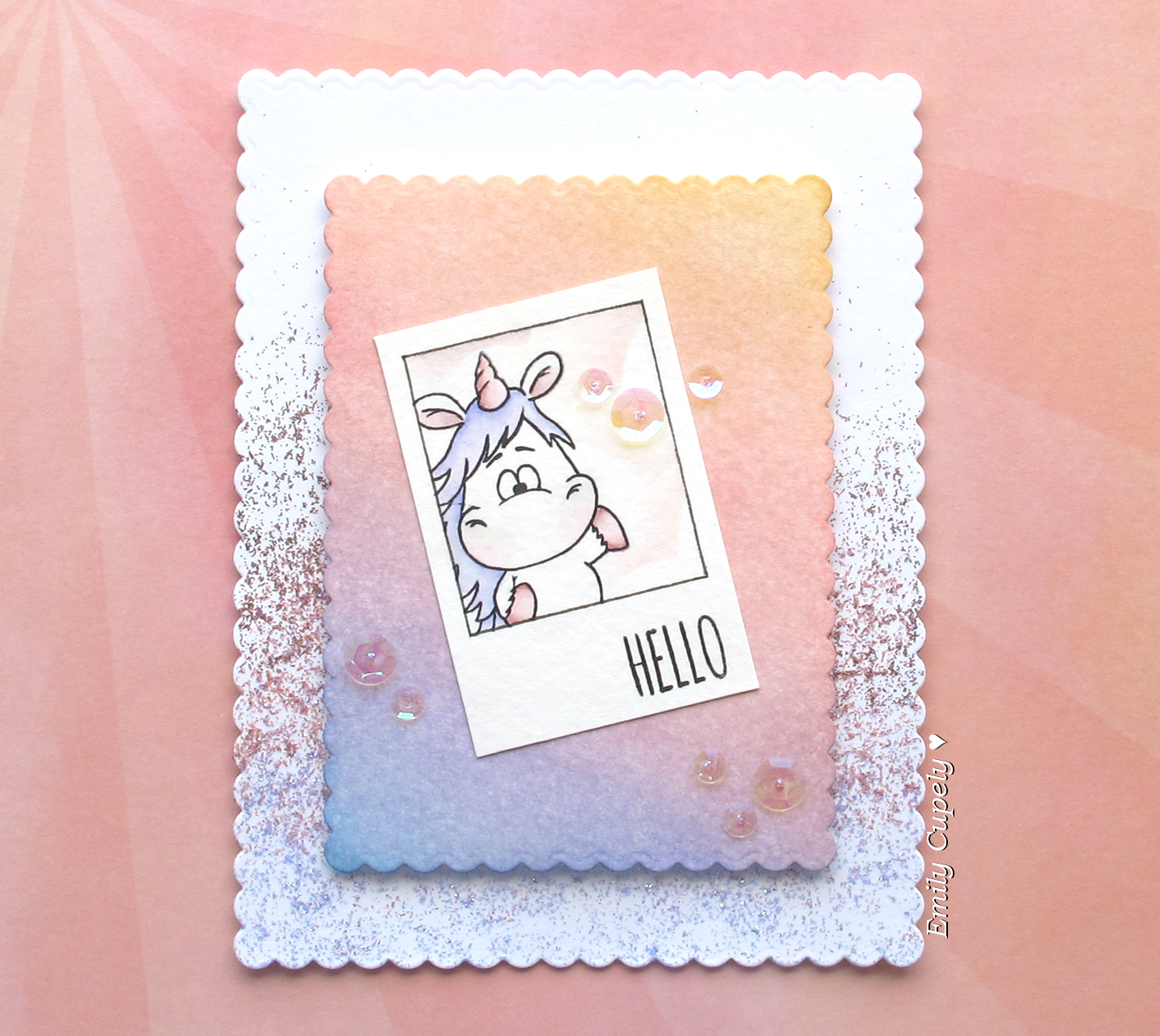 Gerda Steiner Designs, LLC: Video: Polaroid Frame Using Masking
