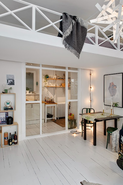 Small Apartments With White Design 8