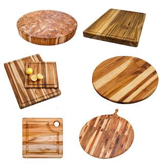 Thớt làm từ gỗ Teak