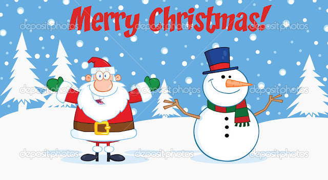 Merry Christmas Images Cartoon