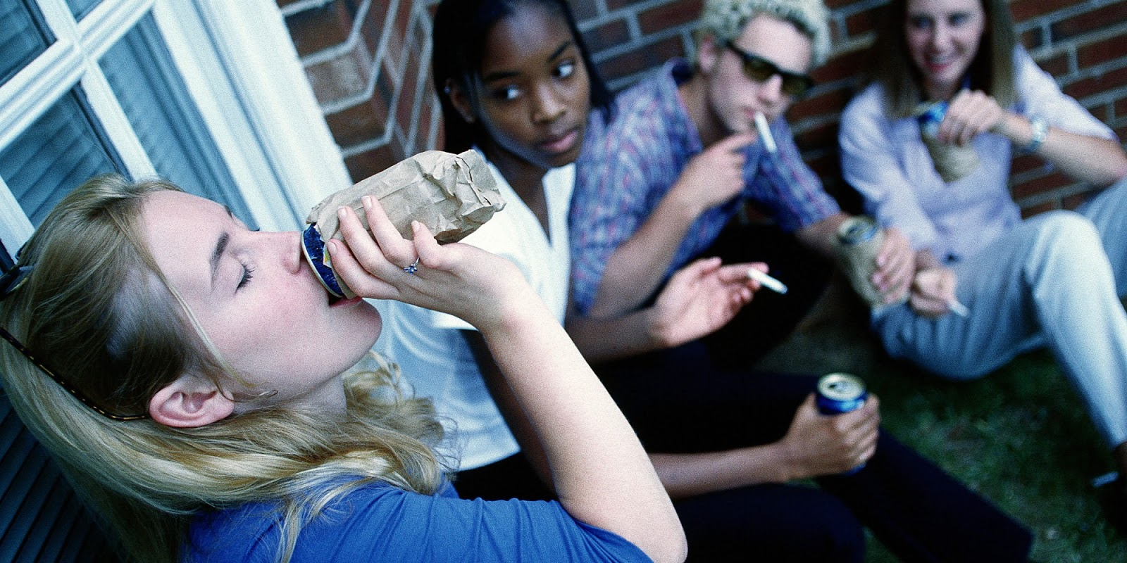 teenage alcoholism How many adults aged 35 and older drank alcohol in the past month on average.